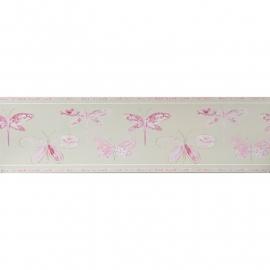 Caselio Vlinderrand in roze beige