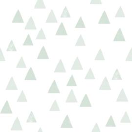 Esta Home Let's Play! behang grafische driehoekjes mint 139055