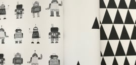 Esta Home Little Bandits Vintage Robots behang 138939