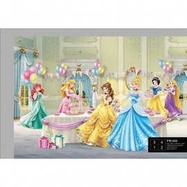 Dutch Wallcoverings Fotobehang Disney Princess feest FTD2224