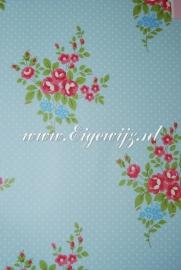 Bloemen klein Blauw 550112