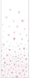 059. Hartjespaneel roze grijs
