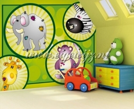 40. Noordwand Little Ones Fotobehang Zoo Fun 417040
