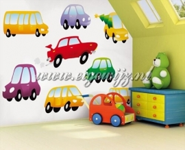 08. Noordwand Little Ones Fotobehang Dinky Cars 418008
