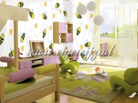 45. Noordwand Little Ones Fotobehang Free Bee 416045