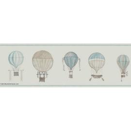 03. Luchtballon rand blauw