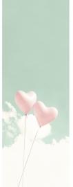 052. Hartjespaneel Mint roze