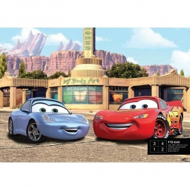 Dutch Wallcoverings Fotobehang Disney Cars