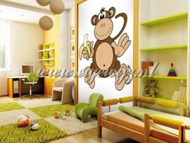 46. Noordwand Little Ones Fotobehang My Monkey 414046