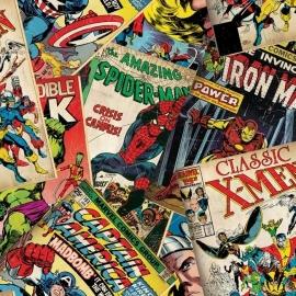 Kids@Home Marvel Cover Story behang 70-265