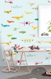 Onszelf Vliegtuigen poster in diverse kleuren oz3160