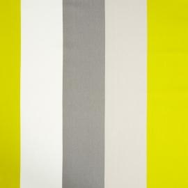 Life Streepstof grijs wit geel