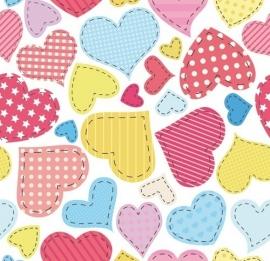 13015 Heart U Dutch DigiWalls Olly Fotobehang