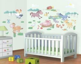 Baby Boerderij Room Decor Kit