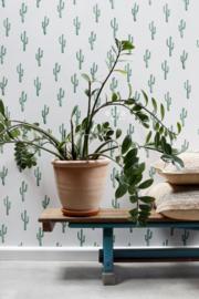 Esta Greenhouse Kleine woestijn cactus intens smaragd groen 138900