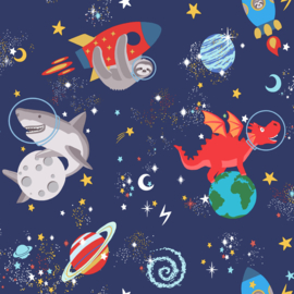 Space Animals 90922  Blauw