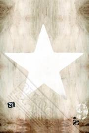 Onszelf Poster Star beige 3179