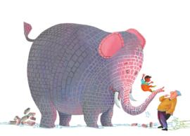 KEK Amsterdam Kids mural Alice Hoogstad Concrete Elephant WS-083