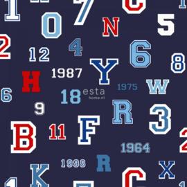College Cijfers en Letters behang 138831