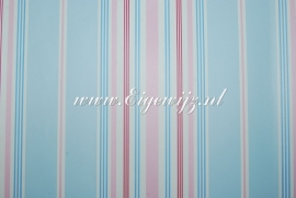 Streep Blauw/Roze 550722