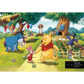 Dutch Wallcoverings Fotobehang Disney Winnie the Pooh FTDS1938