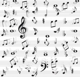 13013 Love 4 Music Dutch DigiWalls Olly Fotobehang