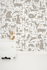 KEK Amsterdam Kids behang ABC Animals WP-046