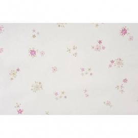 043. Caselio Bloemetjesbehang in roze/beige
