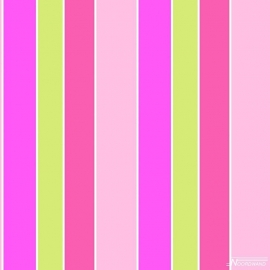 Streepbehang roze groen paars 101