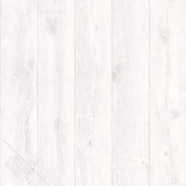 Planken behang grijs