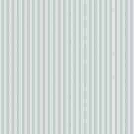 01. Streepjesbehang blauw wit