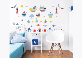 Walltastic Nautical Decor Kit 44845