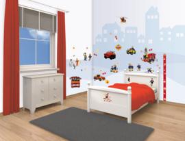 Walltastic Brandweerman Sam Room Decor Kit