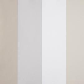 Life Streepbehang in beige wit grijs