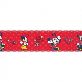 Kids@Home Disney Minnie Red Bow behangrand 70-033