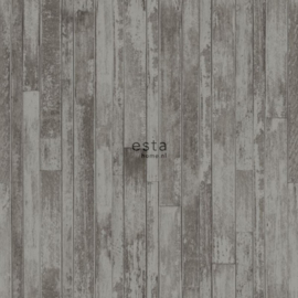 Esta Greenhouse  krijtverf vintage sloophout planken  vergrijsd bruin taupe 128839