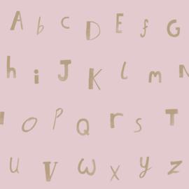 Alfabet roze 12563
