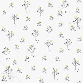Bomenbehang  grijs geel