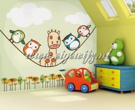 53. Noordwand Little Ones Fotobehang Vertical Rope 416053