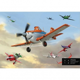 Dutch Wallcoverings Fotobehang Disney Planes FTD2218