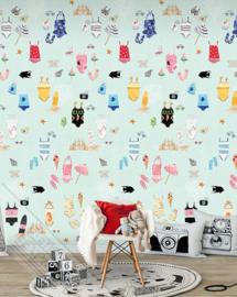 Behangexpresse Abby & Bryan Wallprint Beachlife INK 7210