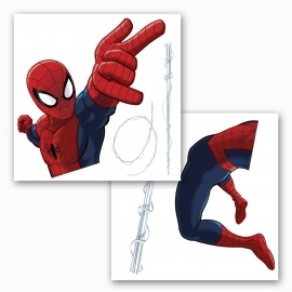 Spiderman RaamSticker 16400