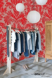 Onszelf Poster Barok Rood taupe OZ3739