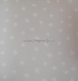 Onszelf Sterrenbehang lichtgrijs wit 3205