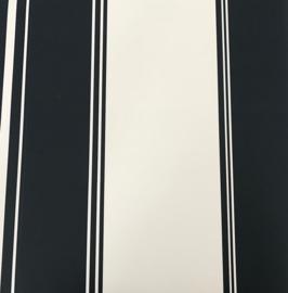 Streep behang  blauw wit 136417