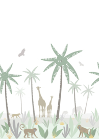 Esta Home Let's Play! PhotowallXL Jungle Animals 158928