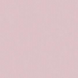 Stipjesbehang roze wit