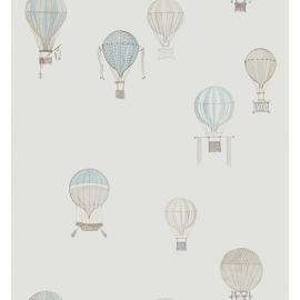 04. Luchtballon STOF blauw