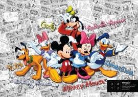 Dutch Wallcoverings Fotobehang Disney Mickey on Dark Comicks FTD2225