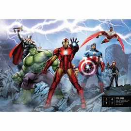 Dutch Wallcoverings Fotobehang Marvel Avengers FTD2230